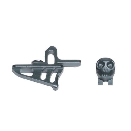 HK Army Skeleton Rotor / LT-R Power Button + Release Trigger - Pewter