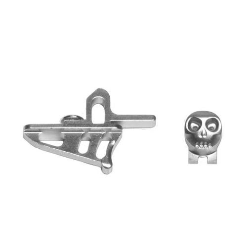 HK Army Skeleton Rotor / LT-R Power Button + Release Trigger - Silver