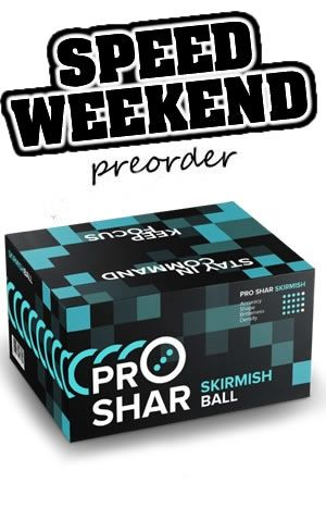 Speed Weekend 2020 Paint Preorder - PRO-SHAR SKIRMISH