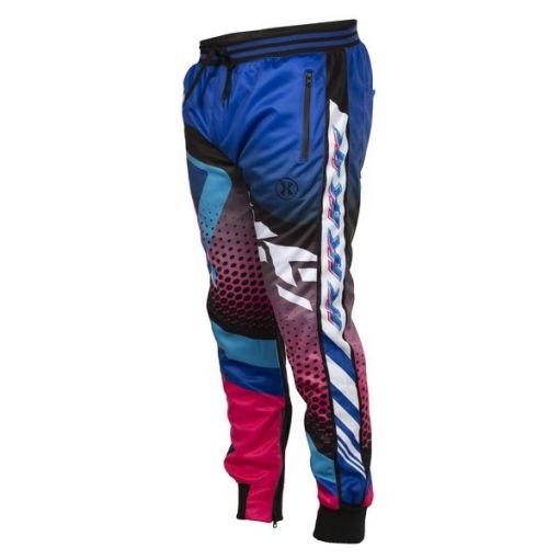 HK Retro - Blue/Pink - Track Jogger Pants