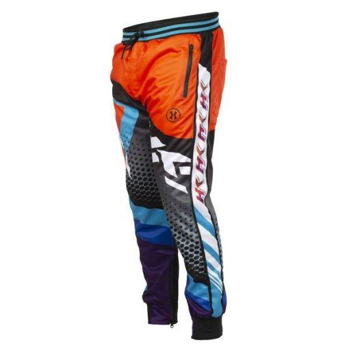 HK Retro - Orange/Teal - Track Jogger Pants