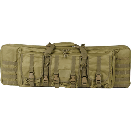 Valken V Tactical Double Rifle Tactical-36 Gun Case-Tan