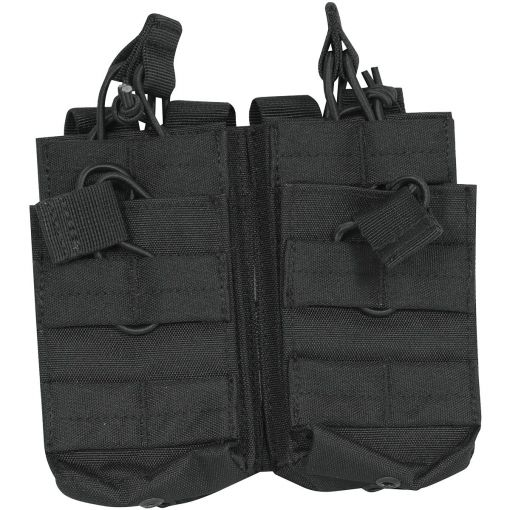 Double Duo Mag Pouch Black