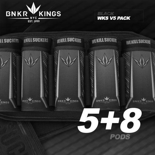 Bunker King Strapless Pack V5 - WKS 5+8 - Black