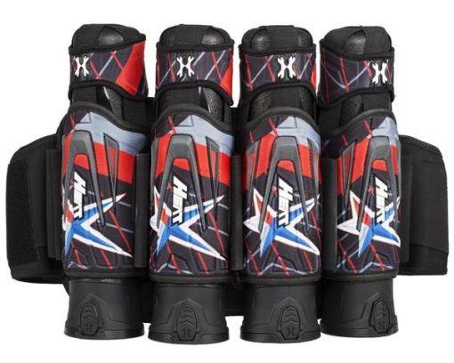 HK Army Zero-G Harness 4+3  - Houston Heat