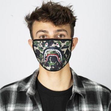 HK Army Anti-Dust Reversible Face Mask - Shark Camo