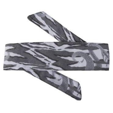 HK Hostilewear Headband - Snakes Grey