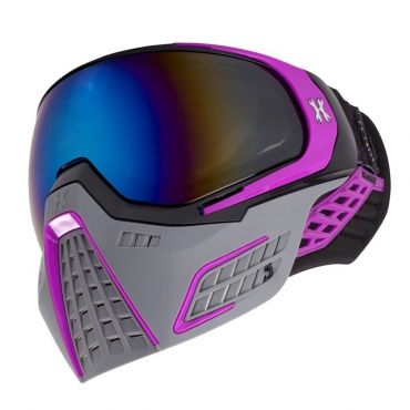 HK Army KLR Goggle - Slate - Black/Purple