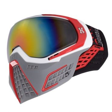 HK Army KLR Goggle - Slate - White/Red