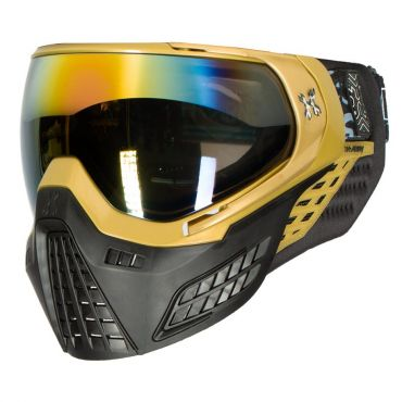 Hk Army KLR Goggle - Blackout - Metallic Gold