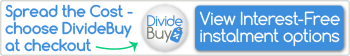 Spread the cost choose DivideBuy at the checkout link