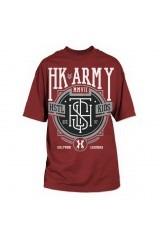 HK T-Shirt Monogram 2 Burgundy