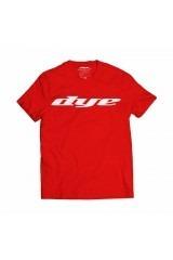 DYE T-Shirt Logo - Red/White - S