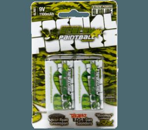 Energy Paintball 2 x 9V Batteries -