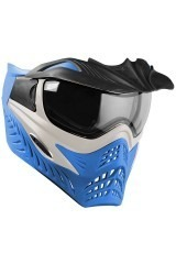 Vforce Grill Goggle SE with Mirror Thermal Lens - Silver/Blue