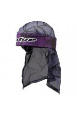 DYE Head Wrap - Infused Purple/Black/Grey