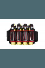 Bunkerking Supreme V3 4-Pack - Red/White
