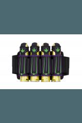 Bunkerking Supreme V3 4-Pack - Purple/Lime
