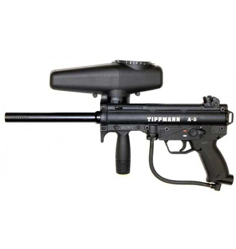 Tippmann A5 - Black - Tippmann Paintball Guns - Paintball ... Paintball Guns Tippmann