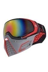 HK Army KLR Goggle - Slate - Black/Red