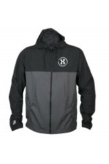HK Army Windbreaker Jacket - Black/Grey