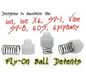 TechT Fly-On Ball Detents -