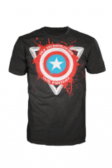 Luxe T-Shirt - Captain America