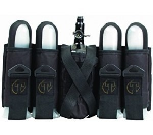 Tippmann Sports Series 4+1 Pod And Tank Harness - Black