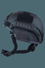 Valken V Tactical Airsoft MICH 2000 Helmet w/Mount&Rails-Black