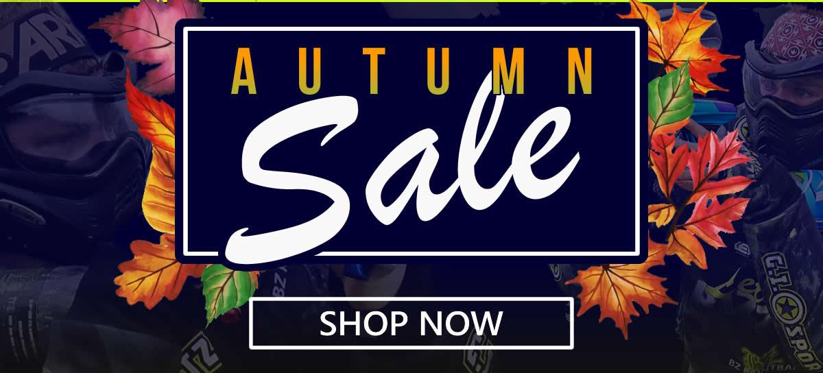 Paintball Autumn Sale