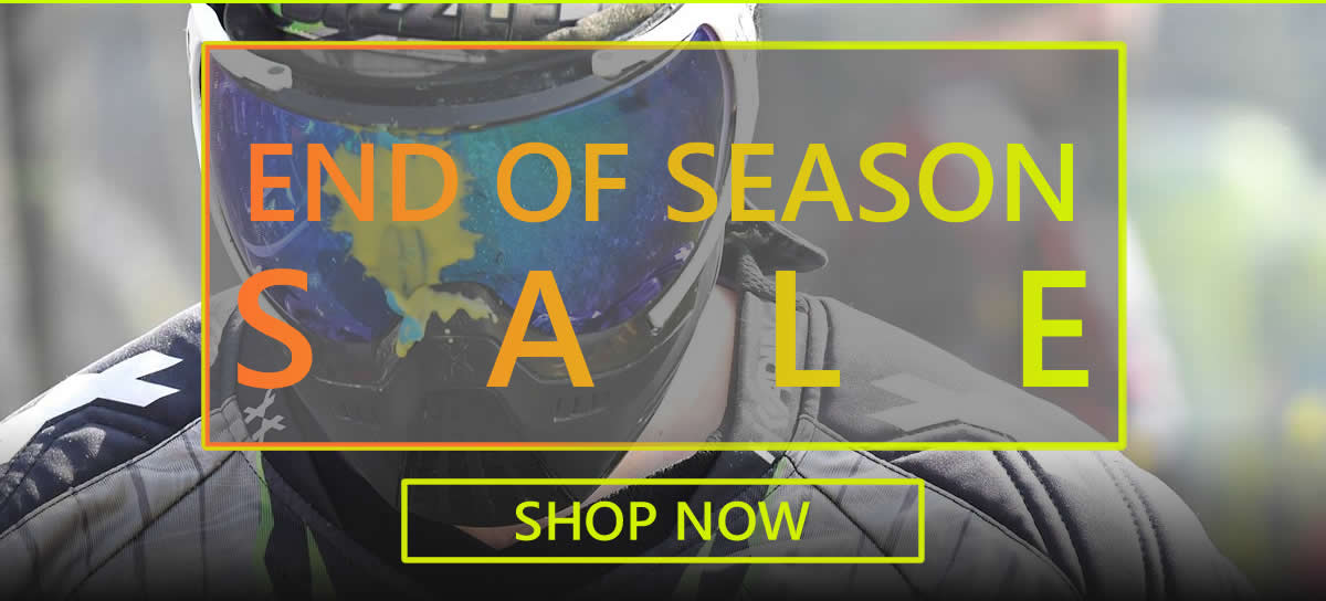 Paintball End of Season Sale