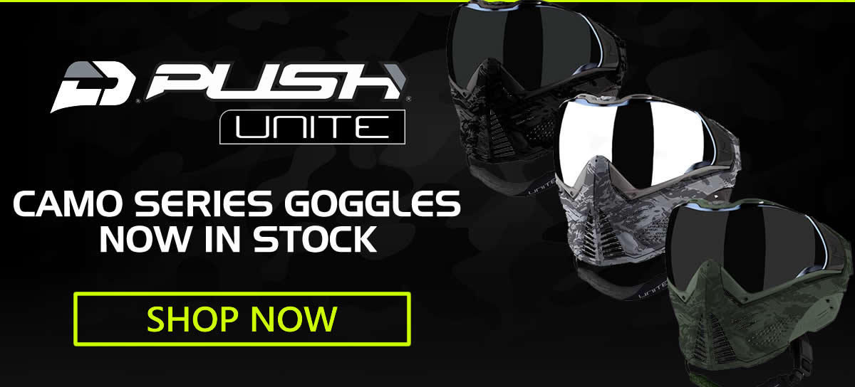 Push Paintball Masks