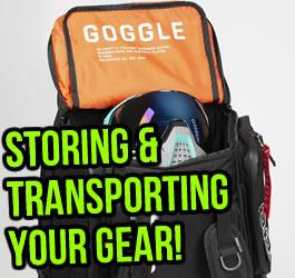 Storing  and Transporting Your Paintball Gear