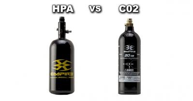 CO2 and Compressed Air Tanks