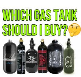Paintball Gas Tank Buying Guide