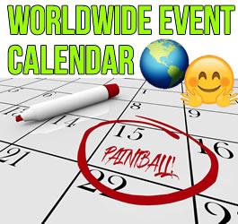 Paintball Events Calendar 2020 (US & Europe)
