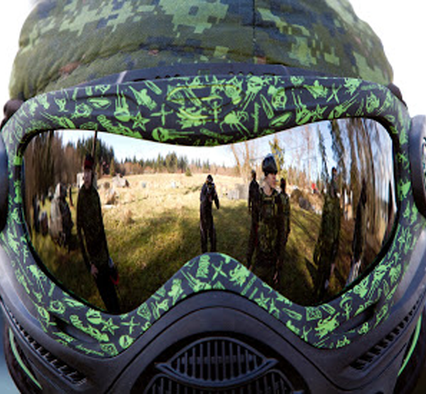 Looking after your paintball mask